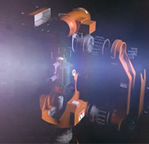 3D动画演示六轴机器人