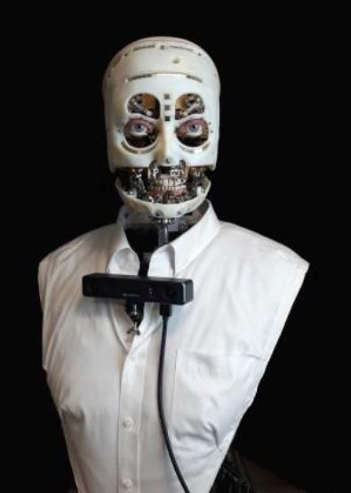 迪士尼研发出一款超仿真机器人,可以像人类一样眨眼